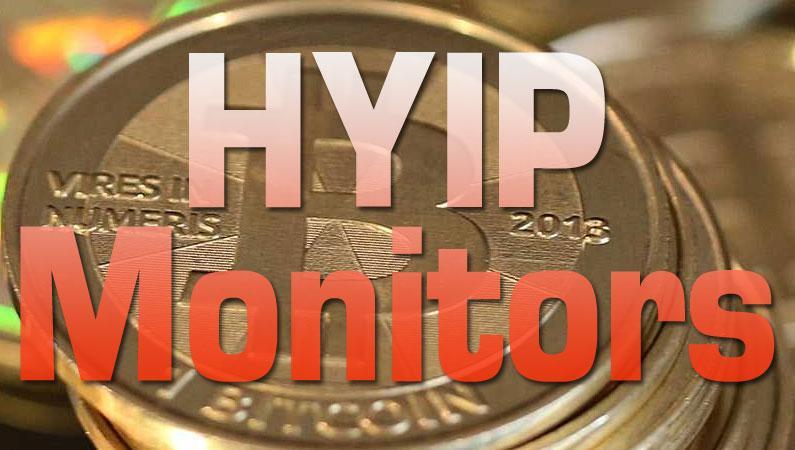 HYIP monitors para comprobar tu inversión en Bitcoin