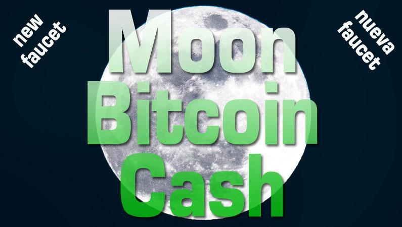 Moon Cash o Moon Bitcoin Cash, CoinPot crece con esta nueva faucet