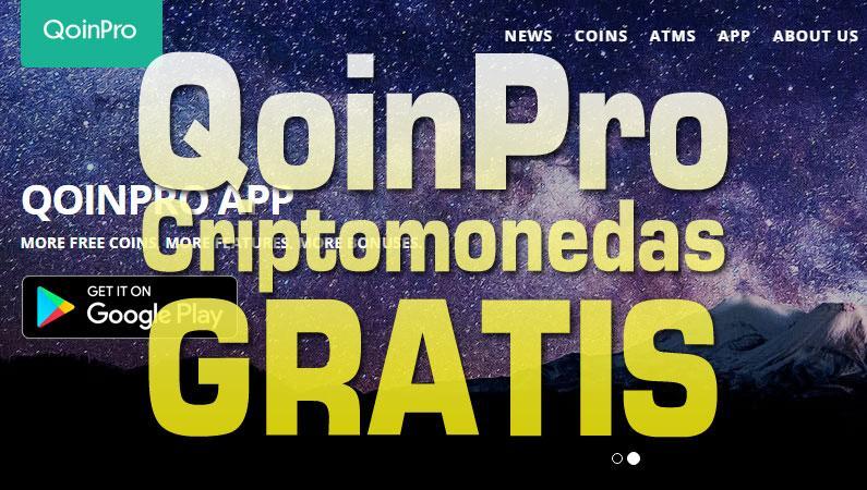QoinPro, wallet, faucet o minería gratis, solo por registrarte