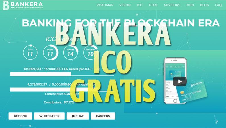 Bankera ICO gratis, consigue esta criptomoneda de forma gratuita