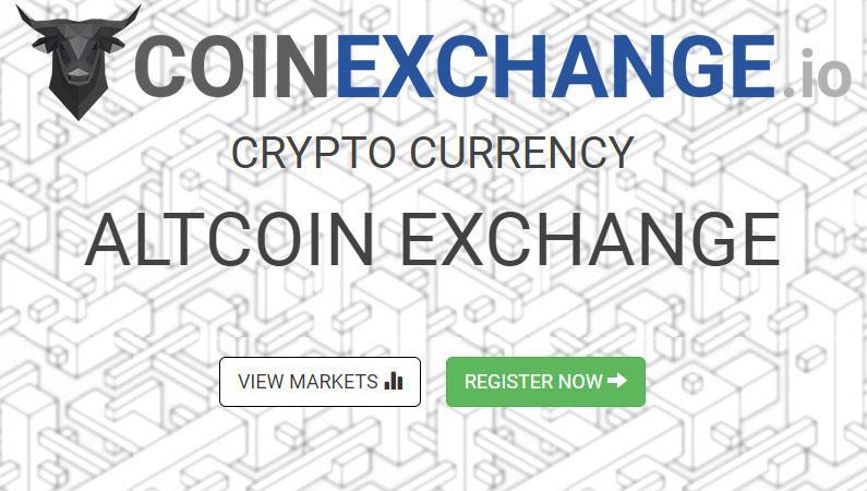 CoinExchange, el exchange de las altcoins, criptomonedas baratas
