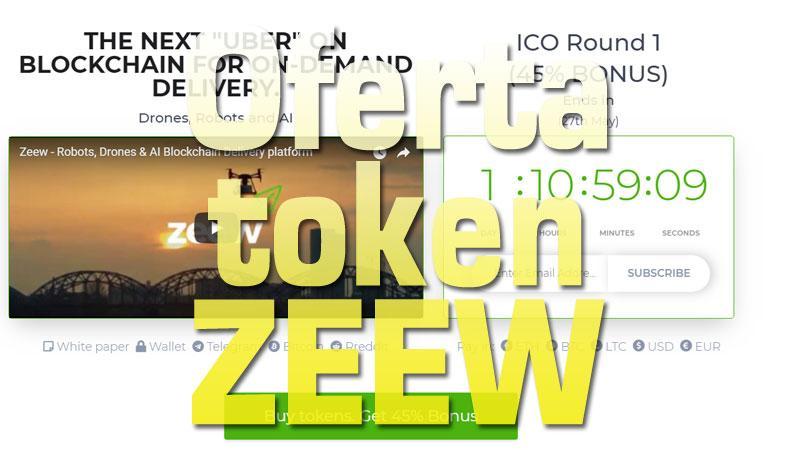 Zeew nueva oferta hasta el 28 de mayo, un token que ya funciona