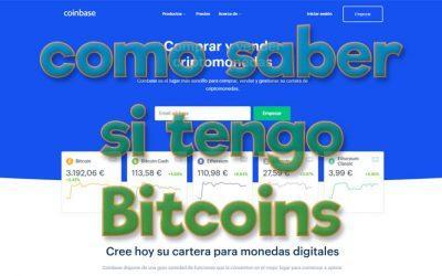 Como saber si tengo Bitcoins
