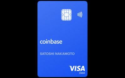 Coinbase Card, tarjeta de débito Visa