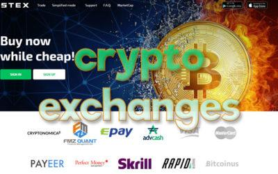 Crypto exchanges para tokens