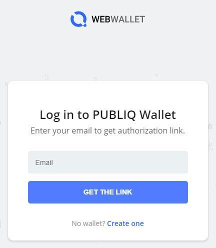 wallet publiq