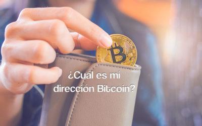 ¿Cuál es mi dirección Bitcoin?