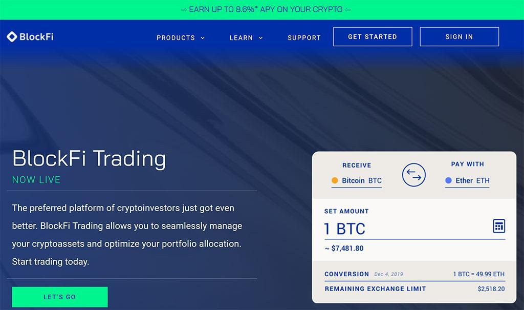 trading blockfi