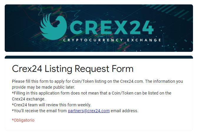 crex24 exchange
