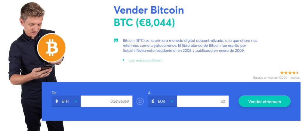 vender bitcoin en anycoin direct