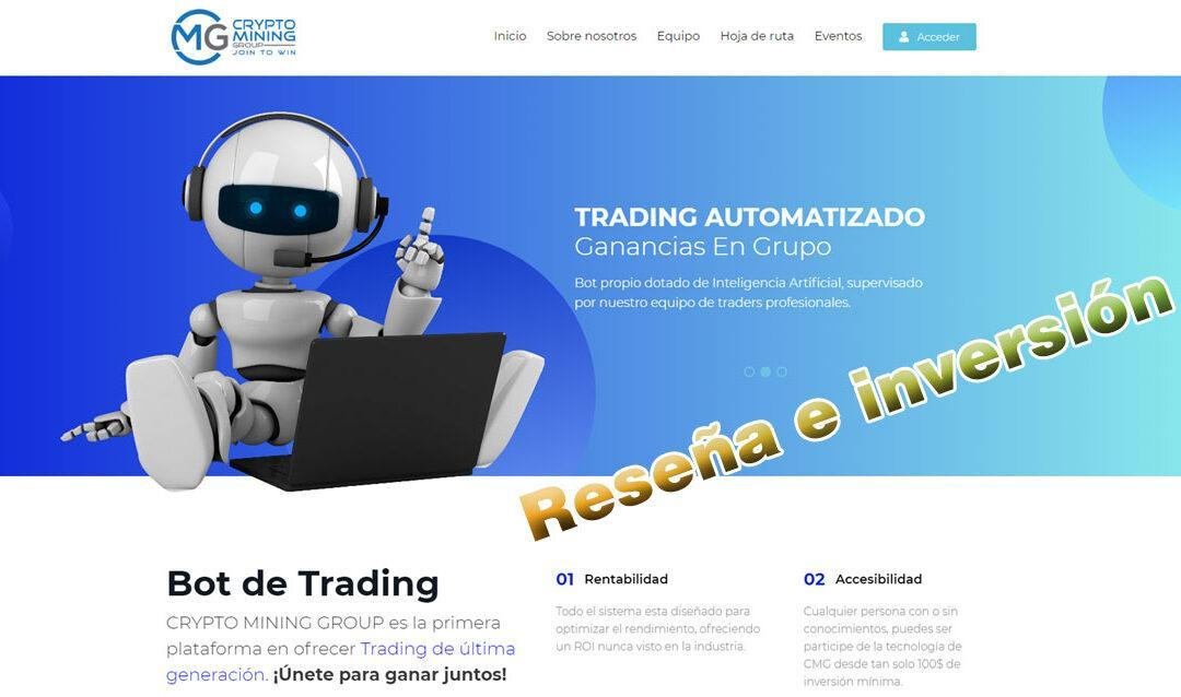 CryptoMiningGroup, trading bots
