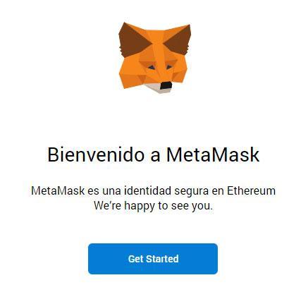 empezar con MetaMask