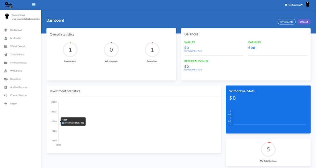 onix tech group plataforma