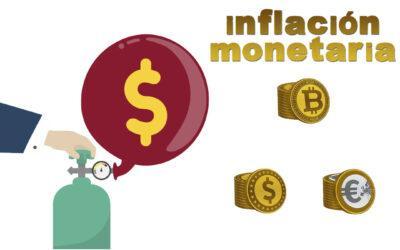 La inflación monetaria devalúa el capital