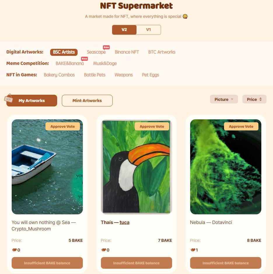 nft supermarket