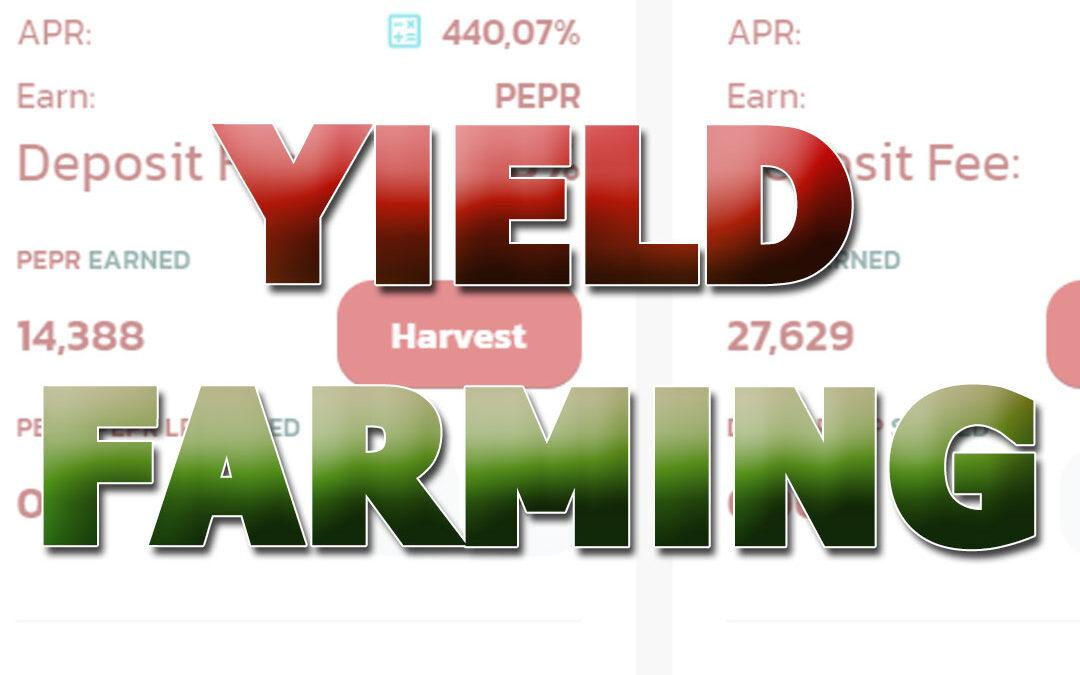 Yield farming comparativa de diferentes plataformas DeFi