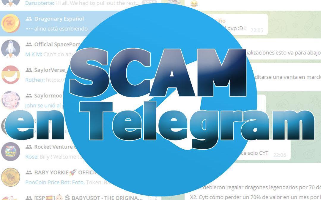 SCAM en Telegram y otras redes sociales